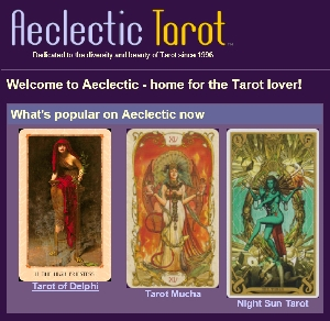 Kate Hill (Solandia do Aeclectic Tarot)
